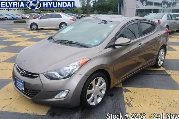2012 Hyundai Elantra 4D Sedan