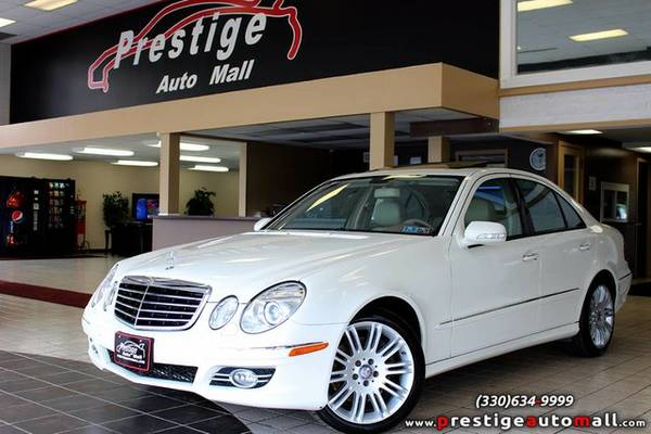 2008 Mercedes-Benz E350 - Sunroof, Navi, 6,000 Mile / 6 Month Warranty