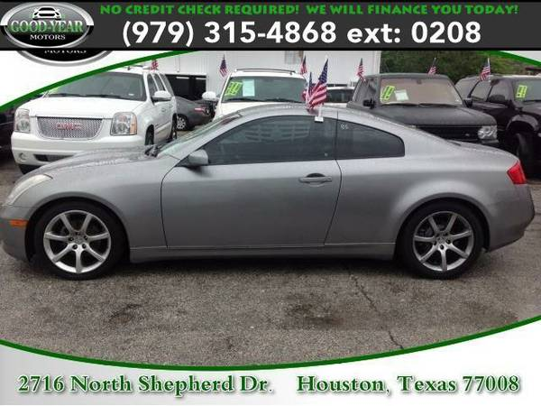 2003 *Infiniti G35* NO CREDIT CHECK REQUIRED!