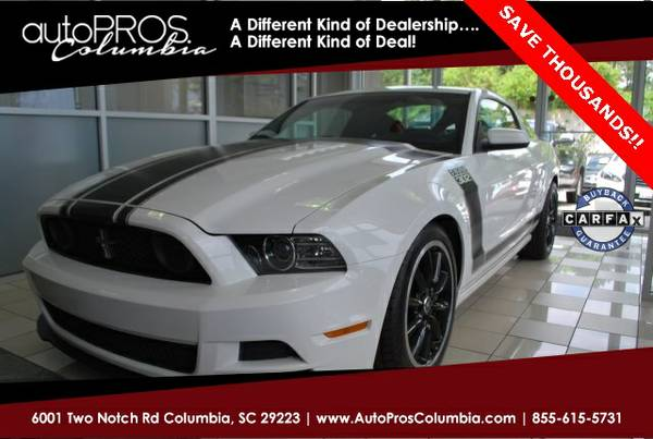 2013 Ford Mustang Boss 302 *You Save $ 212! Below KBB Retail