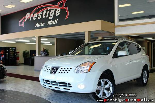 2009 Nissan Rogue - HID, Sunroof, 1-owner Clean CARFAX & Warranty!