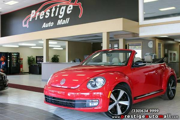 2013 Volkswagen Beetle Convertible - Navi, Heated Seats & Warranty!