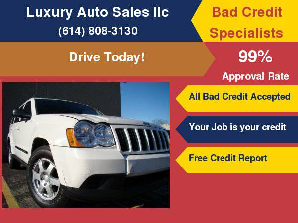 2010 Jeep Grand Cherokee RWD 4dr Laredo Bad Credit OK!!!! Ask for our