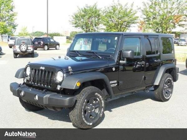 2015 Jeep Wrangler Unlimited Freedom Edition SKU:FL766722 SUV