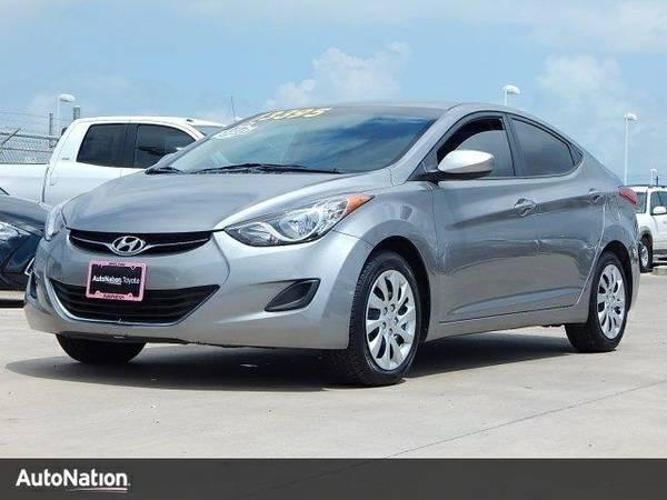 2012 Hyundai Elantra Limited PZEV SKU:CU295566 Hyundai Elantra Limited