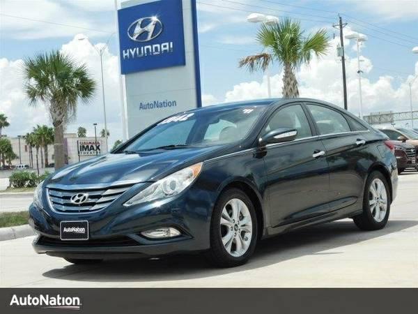 2011 Hyundai Sonata Ltd PZEV w/Wine Int SKU:BH039802 Hyundai Sonata Lt