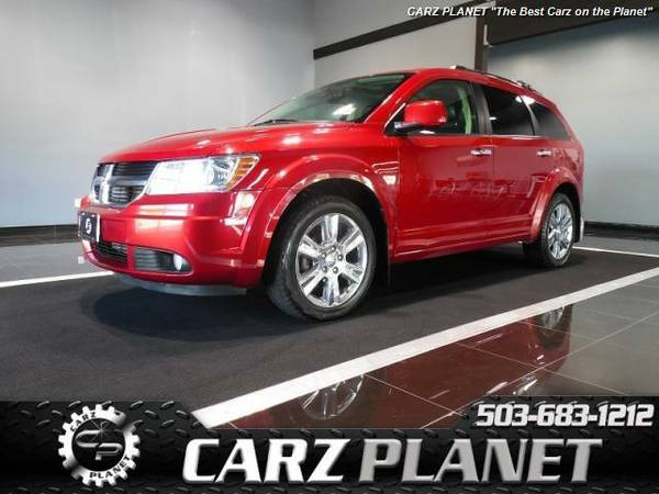 █ 2010 Dodge Journey R/T 3rd row Seat leather dodge journey rt...