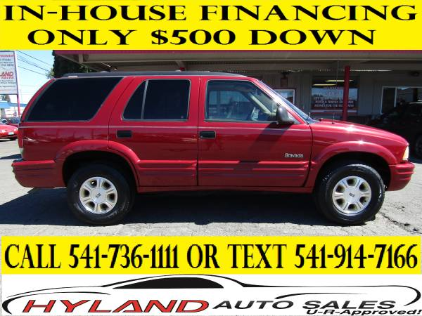 1997 OLDSMOBILE BRAVADA 4X4 *LOW MILES* U-R APPROVED!! @ HYLAND AUTO