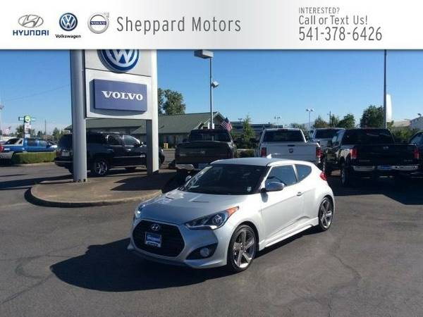 2015 Hyundai Veloster 3dr Cpe Man Turbo Coupe Veloster Hyundai
