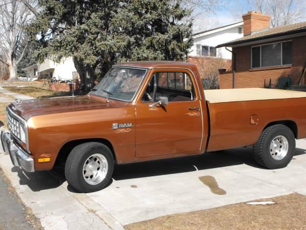 Nice 1983 Dodge Ram 150