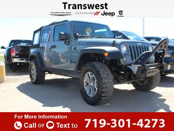 2014 *Jeep* *Wrangler* *Unlimited* *Rubicon* *4x4* 27k miles