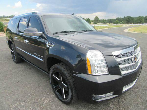2013 *Cadillac* *Escalade* *ESV* AWD 4dr Platinum Edition - CALL/TEXT