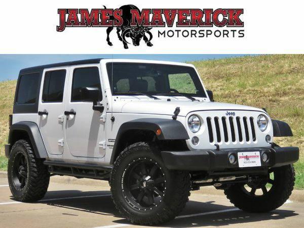 2014 *Jeep* *Wrangler* *Unlimited* Sport w/ProComp Lift