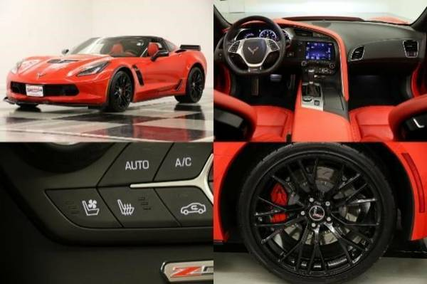 *CORVETTE Z06 - PRISTINE Coupe* 2015 Chevy *GPS - COOLED LEATHER*