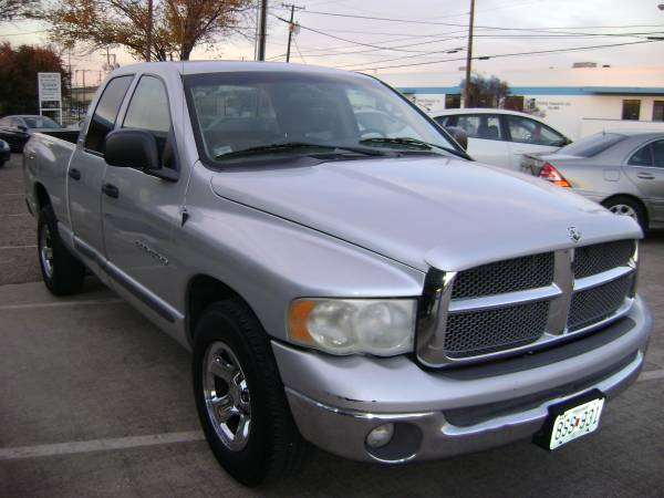 2002 DODGE RAM 1500 Crew Cab Low Down Low Monthly