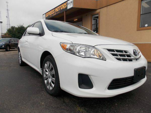 2013 *Toyota* *Corolla* LE - GET APPROVED TODAY!