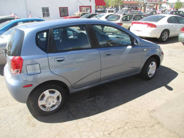 2007 CHEVY AVEO 5 HATCHBACK 5 SPEED MANUAL TRANSMISSION