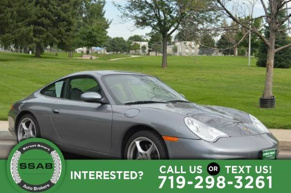 2002 Porsche 911 Carrera 6 speed Manual Low miles sporty fun!