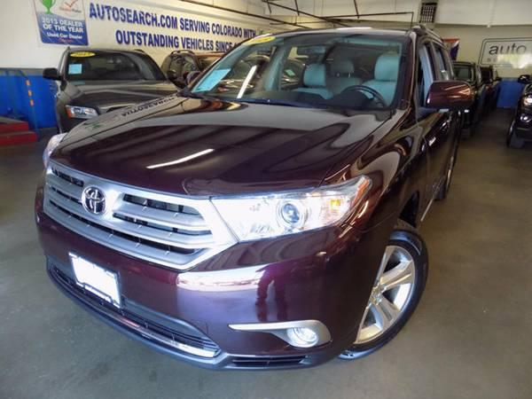 2013 Toyota Highlander Highlander Limited AWD SUV