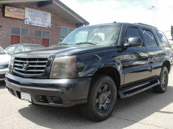 2004 *Cadillac* *Escalade* Base AWD 4dr SUV -- Bad Credit No Problem...