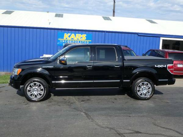 2009 FORD F150 PLATINUM SUPER CREW 4WD