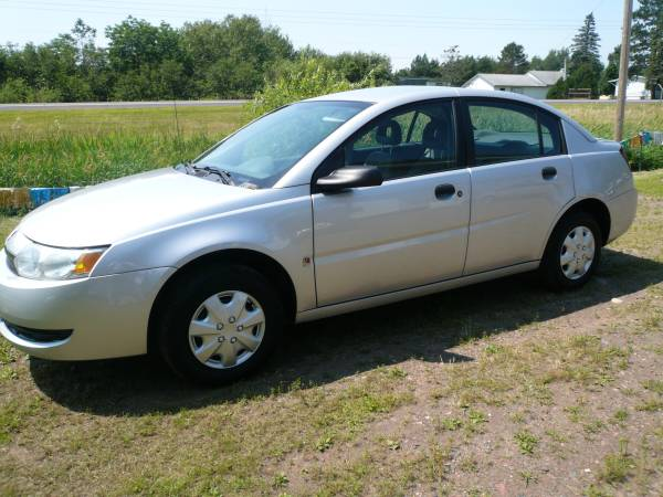 2004 Saturn ION 5speed