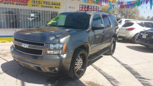 2007 CHEVROLET TAHOE...NO CREDIT?...WHO CARES!..SO WHAT! WE FINANCE !!