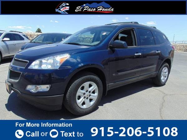2012 *Chevrolet* *Chevy* *Traverse* *FWD* *4dr* *LS* 88k miles