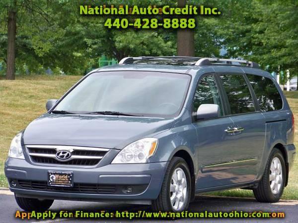 2007 Hyundai Entourage GLS. 1-Owner Vehicle. DVD Entertainment Package