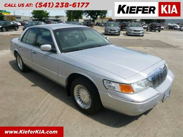 2001 Mercury Grand Marquis LS Sedan Grand Marquis Mercury