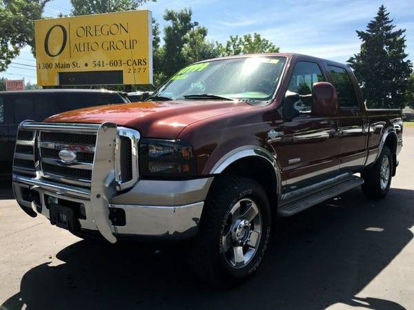2006 Ford F250 KING RANCH CREW CAB 4WD 4x4 LOADED - $0 Down, $305/mo!!