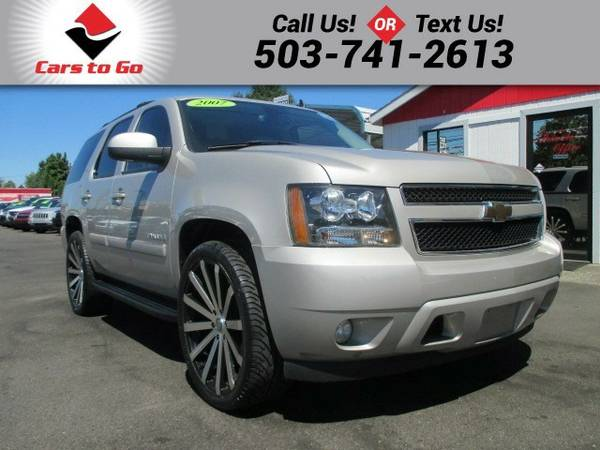 2007 Chevrolet Tahoe CHEVY LTZ WITH 24 INCH WHEELS SUV Tahoe Chevrolet