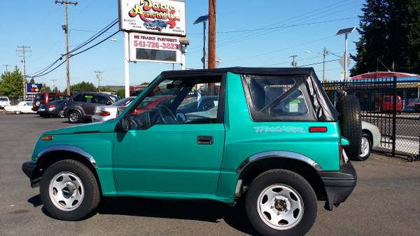 1995 Geo Tracker 2WD NO CREDIT CHECKS! 0% Interest!
