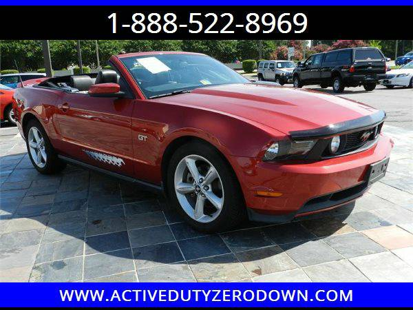 2010 FORD MUSTANG GT= Military Financing= FT BRAGG DISCOUNTS ====