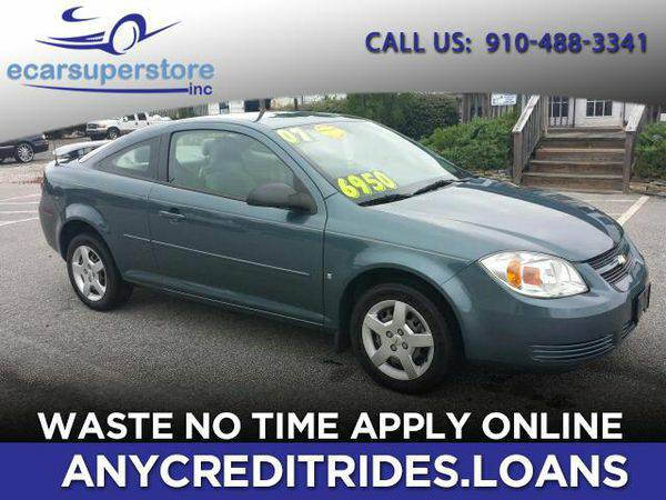 2007 *Chevrolet* *Cobalt* LS Coupe You're Approved or Car is...