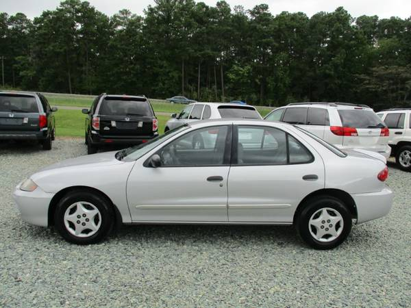 2003 Chevrolet Cavalier, 2.2L 4Cyl, Auto, Silver,Cloth,Only 109K,NICE!