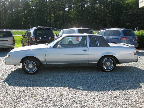 1985 Buick Regal Limited Coupe, 3.8L V6, Auto, Only 42K, Cloth, NICE!!