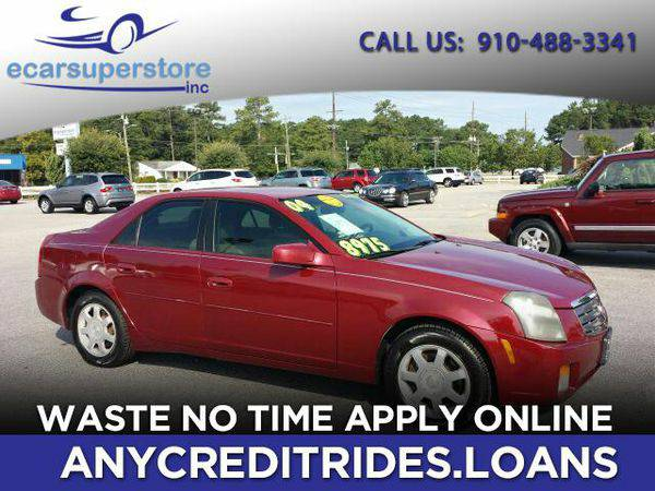 2004 *Cadillac* *CTS* Base You're Approved or Car is *Free*