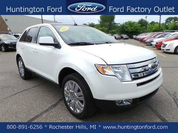 2010 *FORD TRUCK EDGE* LIMITED - WHITE PLATINUM
