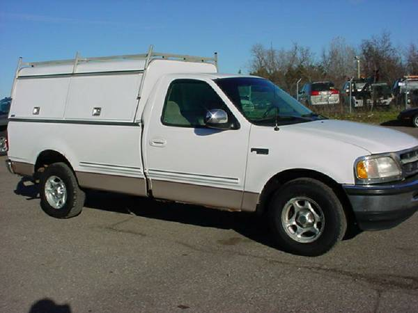 1998 Ford F150... 8ft bed, Contractors Cap.. GREAT WORK TRUCK!