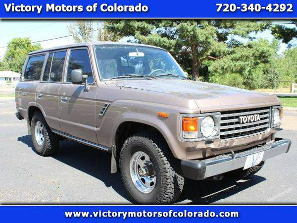 1987 *Toyota* *Land* *Cruiser* Base - Over 450 Vehicles to Choose...