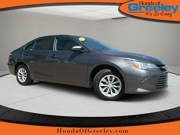 2015 Toyota Camry 4dr Sdn I4 Auto LE 4dr Car
