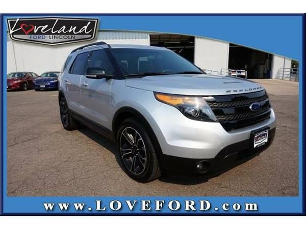 2015 *Ford Explorer* Sport - Ford Ingot Silver Metallic