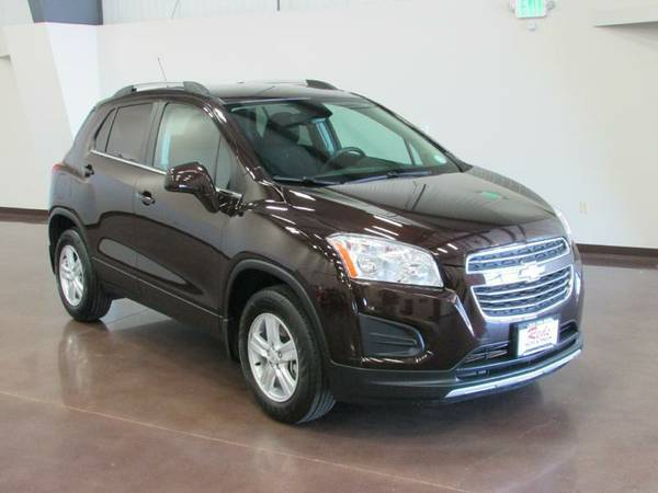 1 OWNER CARFAX CERTIFIED 2015 CHEVY TRAX AWD FACTORY WARRANTY