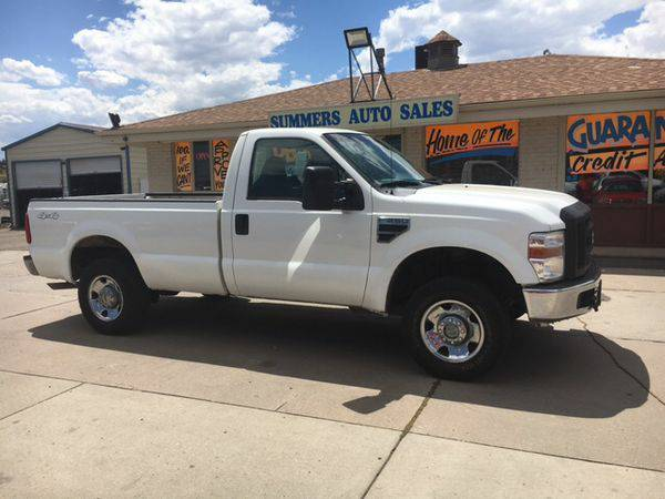 2009 *Ford* *F-250* *Super* *Duty* XL 4x4 2dr Regular Cab 8 ft. LB...
