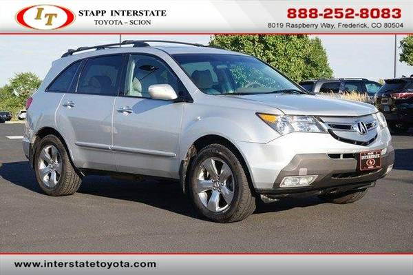 2007 Acura MDX SUV 4WD 4dr Sport/Entertainment Pkg SILVER