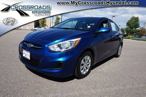 Certified: 2015 Hyundai Accent Sedan GLS - Call for Craigslist Pricing