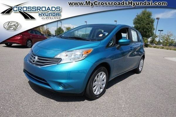 Certified: 2015 Nissan Versa Note SV - Call for Craigslist Pricing