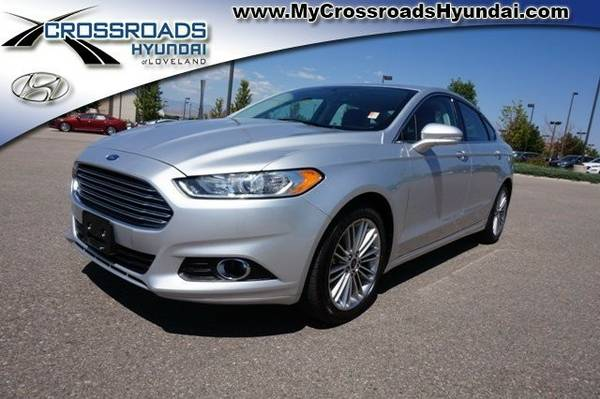Certified: 2015 Ford Fusion Sedan SE - Call for Craigslist Pricing