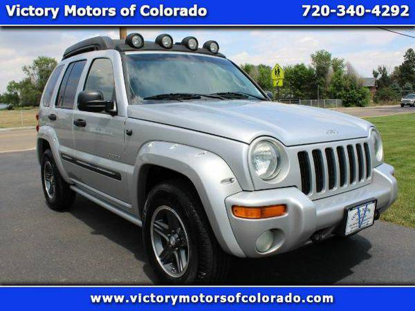 2004 *Jeep* *Liberty* Renegade 4WD - Over 450 Vehicles to Choose From!